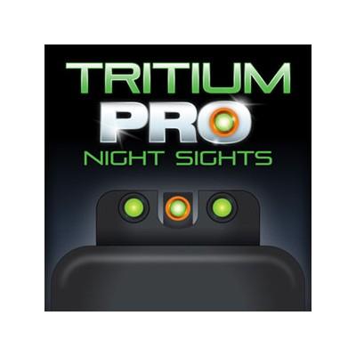 Mířidla Truglo Tritium PRO Glock 42/43/43X Orange