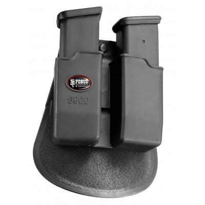 Pouzdro Fobus 6900 ND na 2 zásobníky Glock