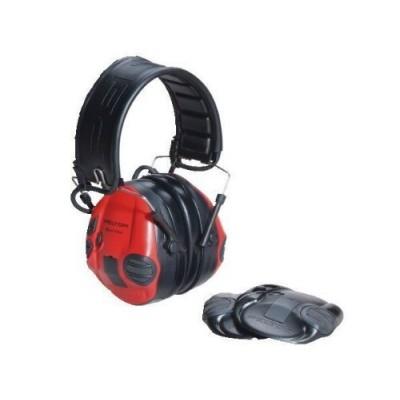 Elektronická sluchátka Peltor SportTac Black/Red