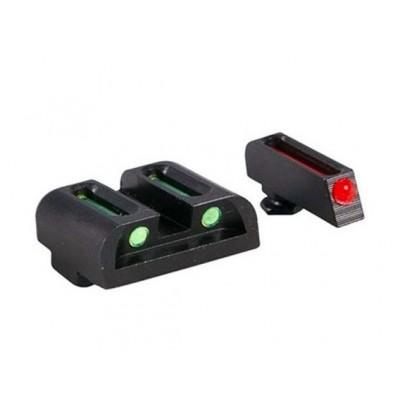 Světlovodná mířidla Truglo Fiber Optic pro Glock