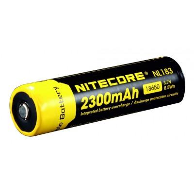 NITECORE 18650, Li-lon Baterie 3,7V/ 2300mAH