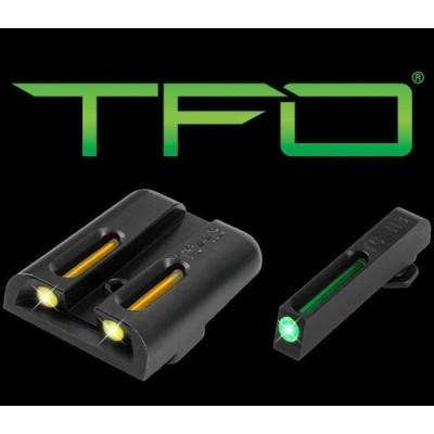 Mířidla Truglo TFO pro Glock 43/42 žlutá/zelená