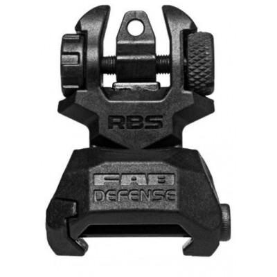 Zadní sklopná mířidla FAB Defense RBS černá