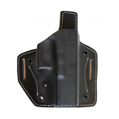 Kydexové opaskové pouzdro Falco v kombinaci s kůží 6302 Glock 19