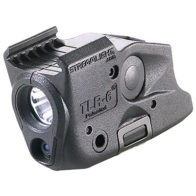 Streamlight TLR-6 na RAIL Glock 17,19,21,22,23,29,35. červený laser