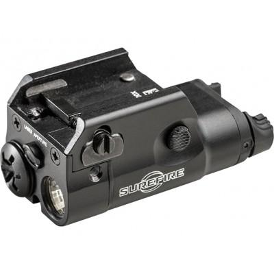 SUREFIRE XC2, kompaktní zbraňová svítilna, 300 lm, červený laser
