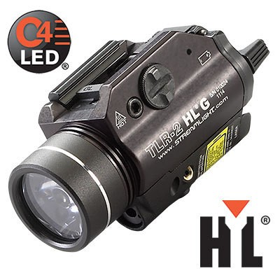 STREAMLIGHT TLR-2 HL G 800 lm, zelený laser